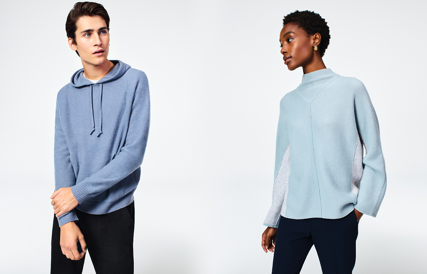 Shop men's and women's sweaters.