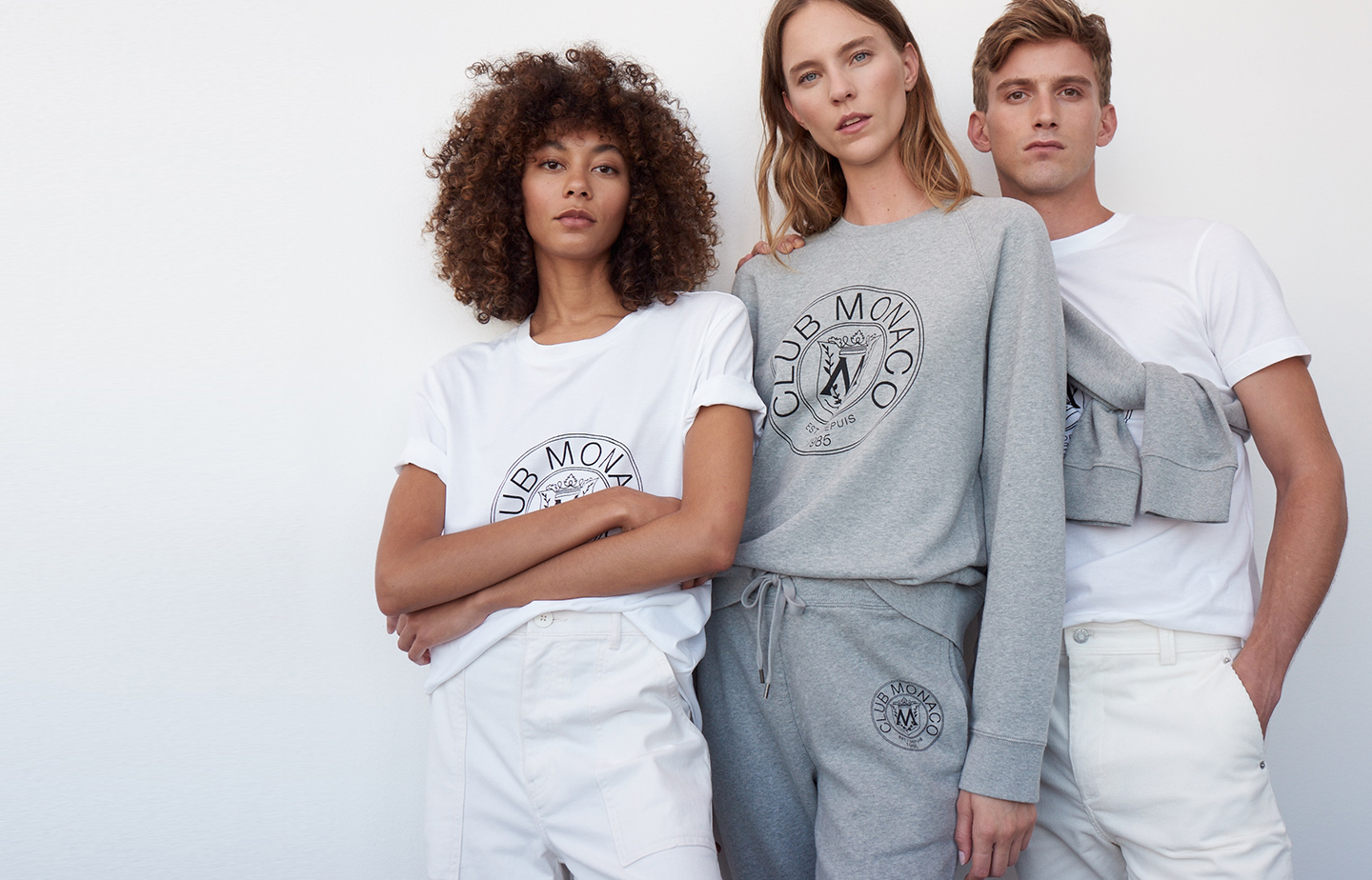 Club Monaco heritage crest collection