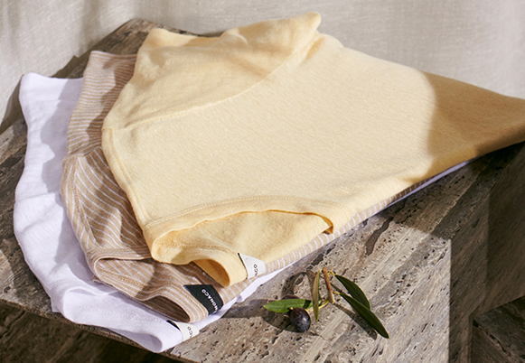 Our French linen is produced in Europe from naturally grown fibers.
