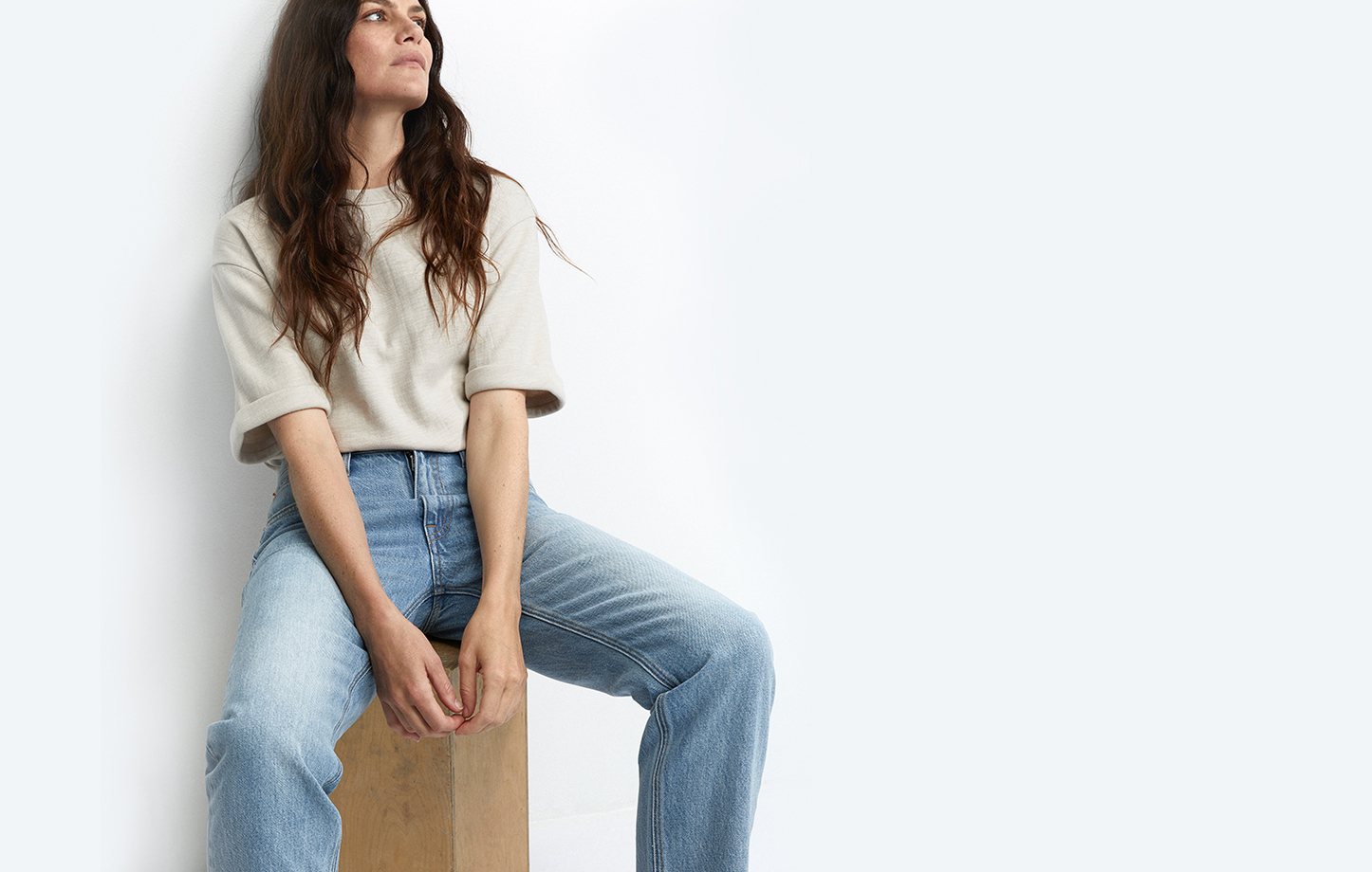 Vintage-inspired jeans, skinny jeans, and wide-leg jeans. Essential fall denim.