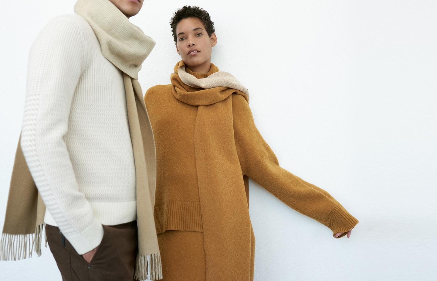 Men's and women's cashmere sweaters