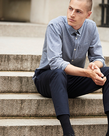 Men's early fall essentials.