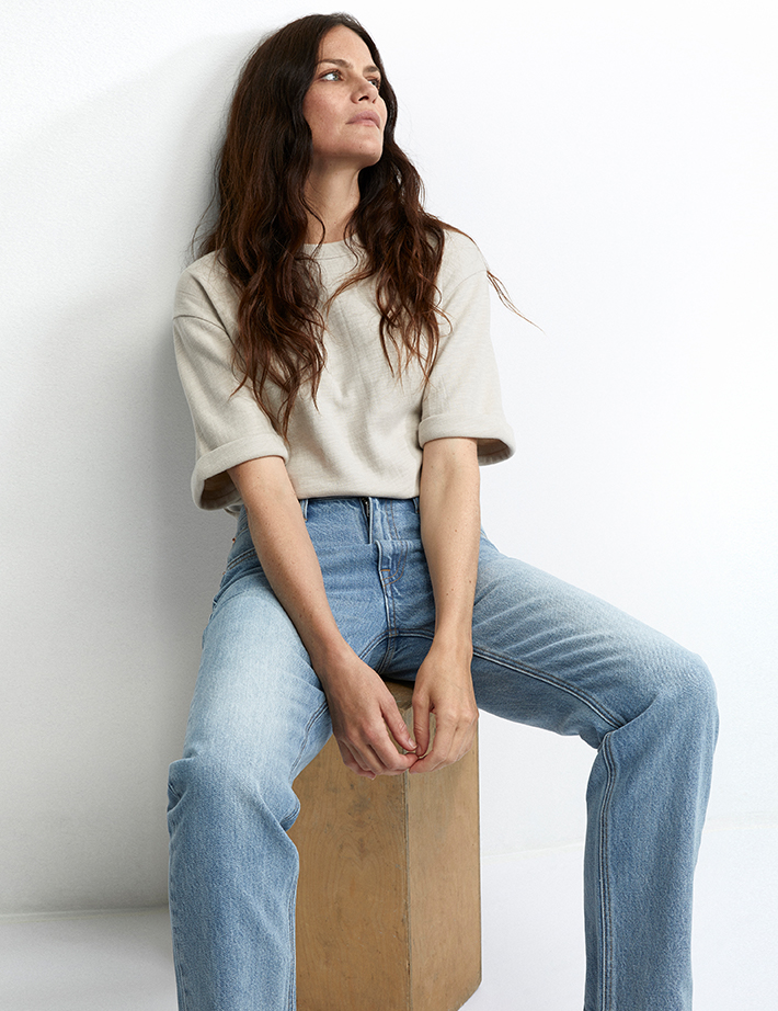 Women's denim–vintage-inspired jeans, high rise jeans, and skinny jeans.